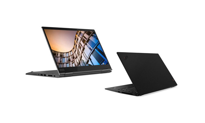 """2 מחשב נייד מעודפים Lenovo דגם X1 Yoga עם מסך מגע """"14, זיכרון 16GB ומעבד i5"""