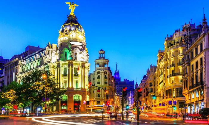 """2 נובמבר במדריד: טיסות ישירות ו-4 לילות במלון לבחירה ע""""ב לינה וארוחת בוקר"""