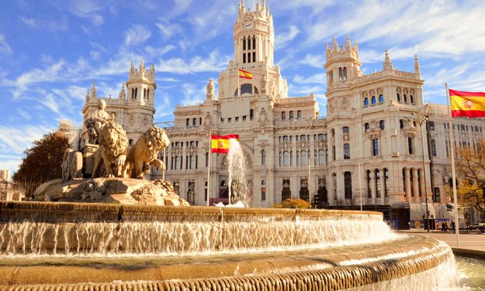 """14 נובמבר במדריד: טיסות ישירות ו-4 לילות במלון לבחירה ע""""ב לינה וארוחת בוקר"""