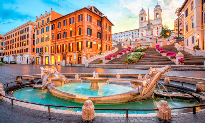 2 חגיגה באיטליה: 4 לילות ברומא במלון לבחירה, כולל חנוכה, כריסמס וסילבסטר