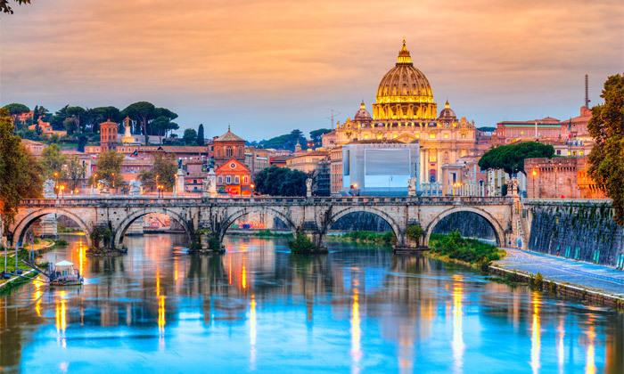 """3 נובמבר-דצמבר באיטליה: סופ""""ש 3 לילות ברומא במלון לבחירה, כולל חנוכה, כריסמס וסילבסטר"""