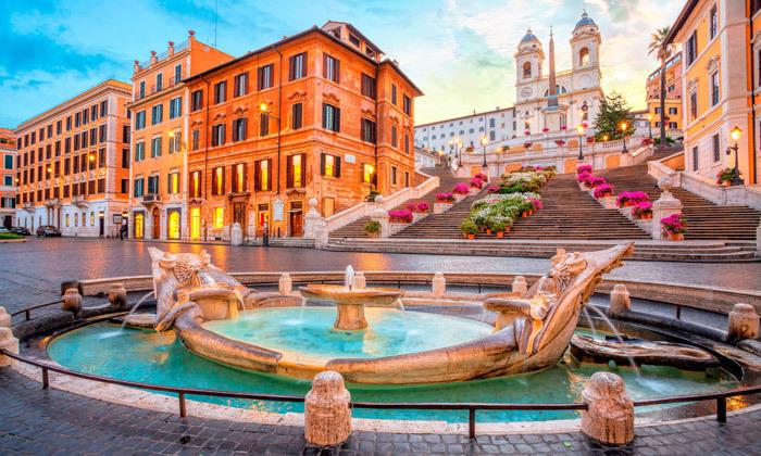 """19 נובמבר-דצמבר באיטליה: סופ""""ש 3 לילות ברומא במלון לבחירה, כולל חנוכה, כריסמס וסילבסטר"""