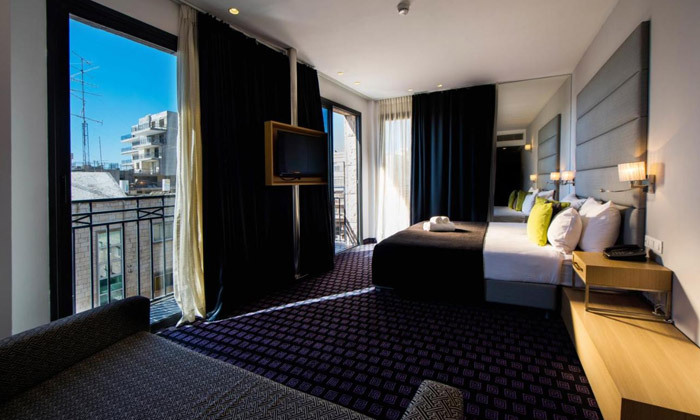 """3 לילה לזוג במלון הבוטיק אייל בלב ירושלים, אופציה לסופ""""ש ע""""ב חצי פנסיון"""