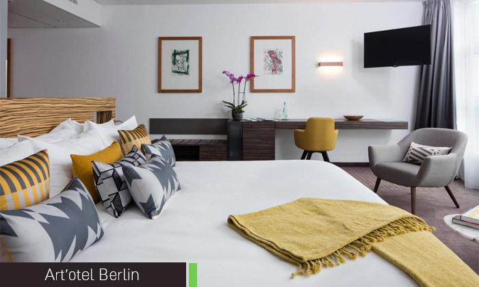 7 נובמבר בברלין: 4 לילות במלון לבחירה עם ארוחות בוקר וטיסות ישירות