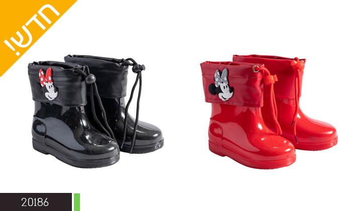 3 2 זוגות מגפי גשם ממותגים במבחר דגמים לילדים