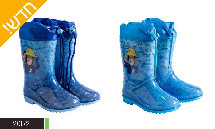 5 2 זוגות מגפי גשם ממותגים במבחר דגמים לילדים