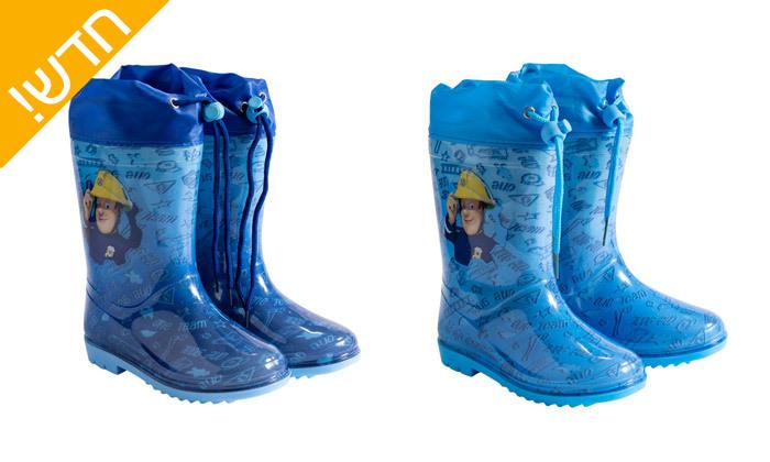 6 2 זוגות מגפי גשם ממותגים במבחר דגמים לילדים