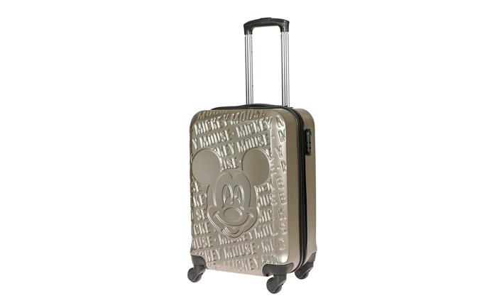 3 מזוודת טרולי 20 אינץ' דגם Mickey Fashion - צבעים לבחירה