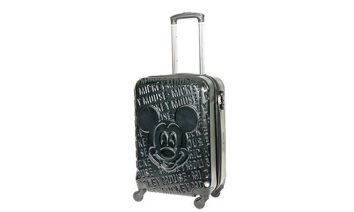 4 מזוודת טרולי 20 אינץ' דגם Mickey Fashion - צבעים לבחירה