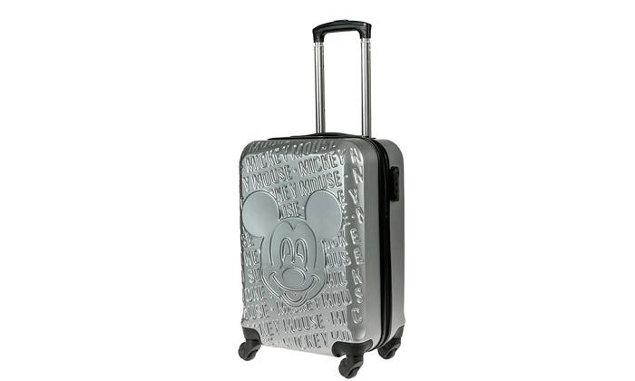 5 מזוודת טרולי 20 אינץ' דגם Mickey Fashion - צבעים לבחירה