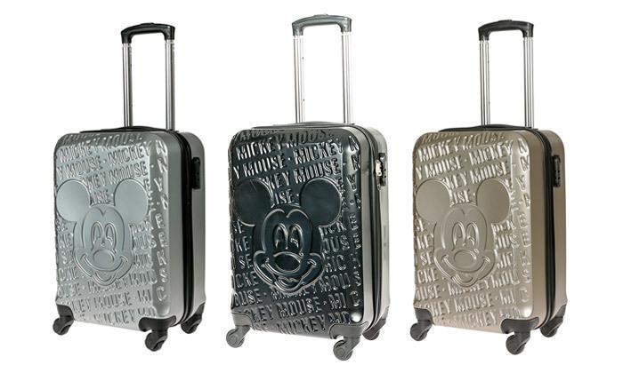 2 מזוודת טרולי 20 אינץ' דגם Mickey Fashion - צבעים לבחירה