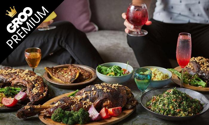 4 מסעדת אל טראס בהרצליה פיתוח: ארוחת שף זוגית עם מנות ים תיכוניות מעולות