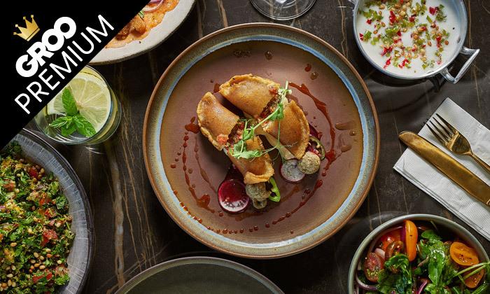 3 מסעדת אל טראס בהרצליה פיתוח: ארוחת שף זוגית עם מנות ים תיכוניות מעולות