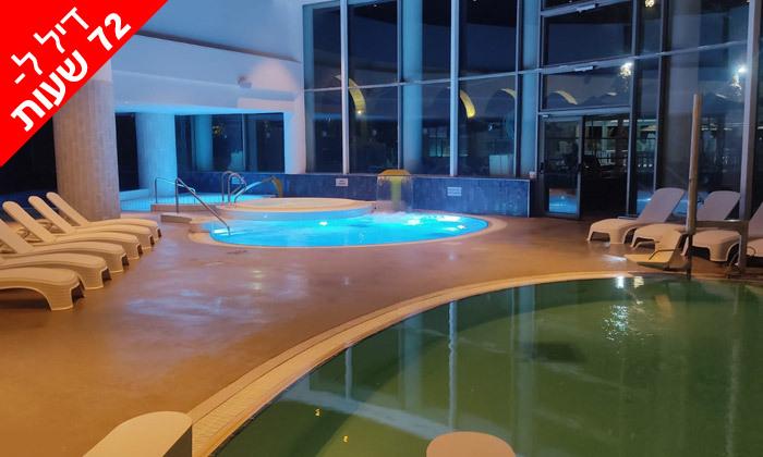 3 לזמן מוגבל: ביום ראשון 17.10 - יום כיף זוגי בספא במלון 5 כוכבים, דניאל ים המלח