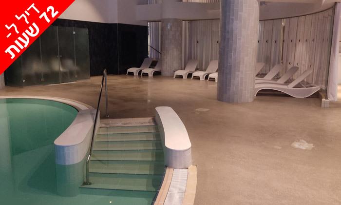 4 לזמן מוגבל: ביום ראשון 17.10 - יום כיף זוגי בספא במלון 5 כוכבים, דניאל ים המלח