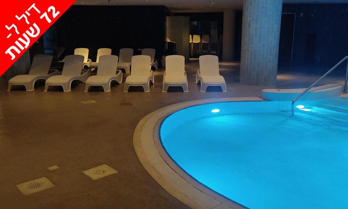 5 לזמן מוגבל: ביום ראשון 17.10 - יום כיף זוגי בספא במלון 5 כוכבים, דניאל ים המלח
