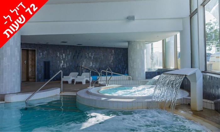 8 לזמן מוגבל: ביום ראשון 17.10 - יום כיף זוגי בספא במלון 5 כוכבים, דניאל ים המלח