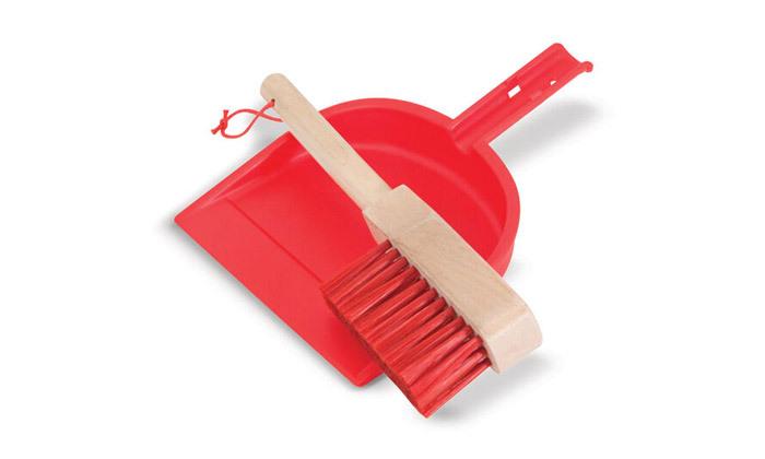 4 ערכת כלי ניקוי צעצוע מעץMelissa & Doug