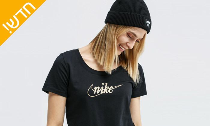4 חולצת טי שירט נייקי NIKE לנשים - צבע לבחירה
