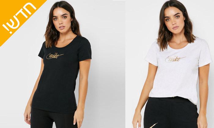 2 חולצת טי שירט נייקי NIKE לנשים - צבע לבחירה