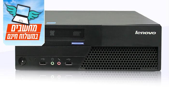 3 מחשב שולחני DELL/HP/LENOVO - משלוח חינם