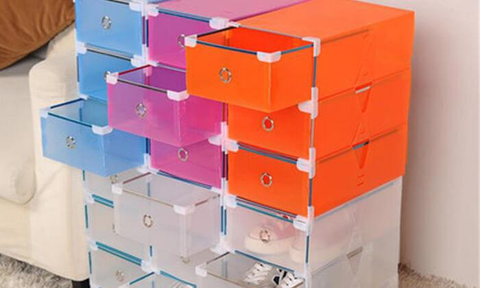 8 מגירות פלסטיק לאחסון כולל