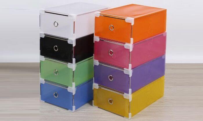 9 מגירות פלסטיק לאחסון כולל