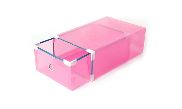 6 מגירות פלסטיק לאחסון כולל