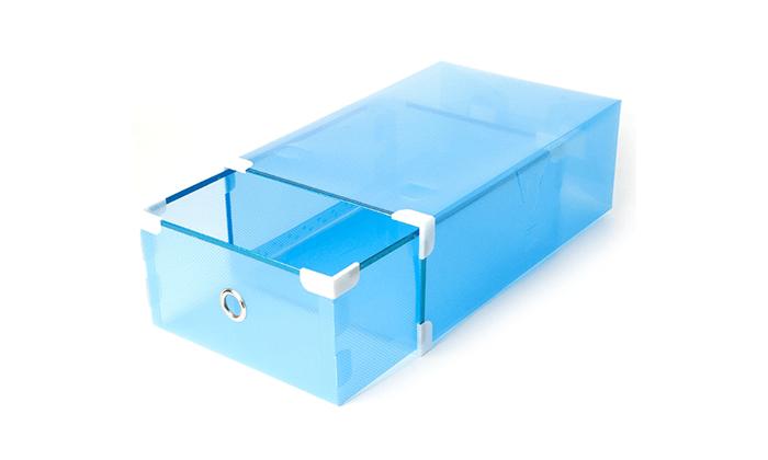 4 מגירות פלסטיק לאחסון כולל