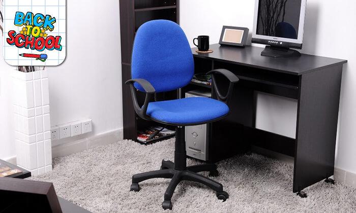6 כיסא תלמיד מרופד