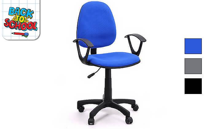 2 כיסא תלמיד מרופד