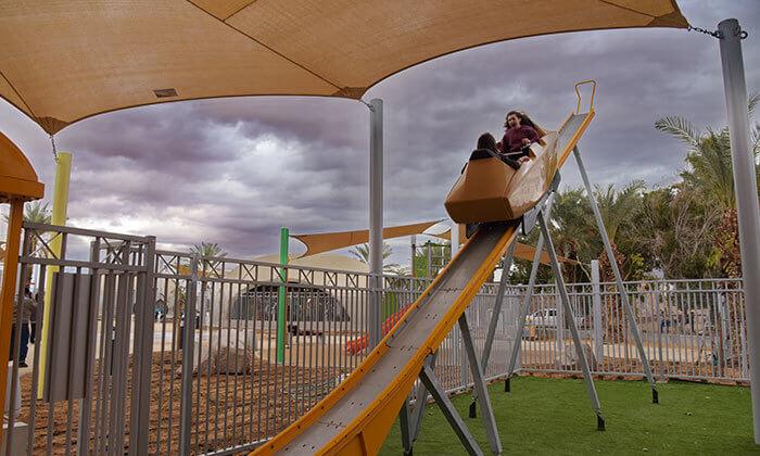 9 פארק יטבתה - אטרקציה לכל המשפחה