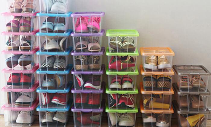 3 סט 10/5 קופסאות לאחסון נעליים