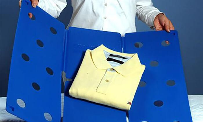4 מקפלא המקורי לקיפול בגדים בצ'יק