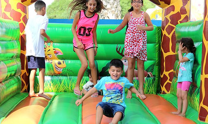 4 יום כיף בפארק אתגרים באשדוד
