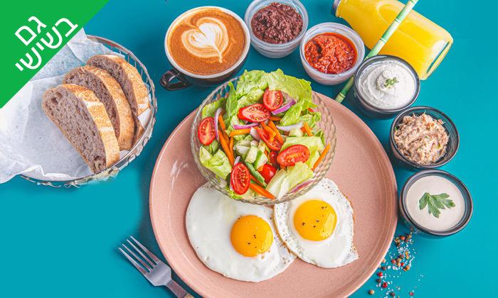"""9 שובר הנחה או ארוחת בוקר זוגית בבית הפנקייק TLV, נמל ת""""א"""