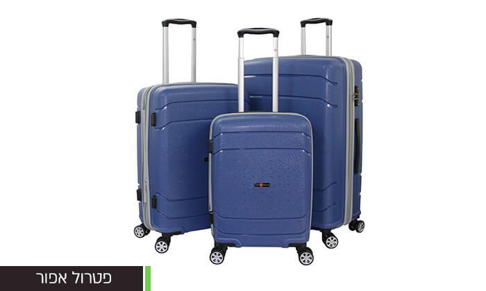 4 סט מזוודות SWISSקשיחות