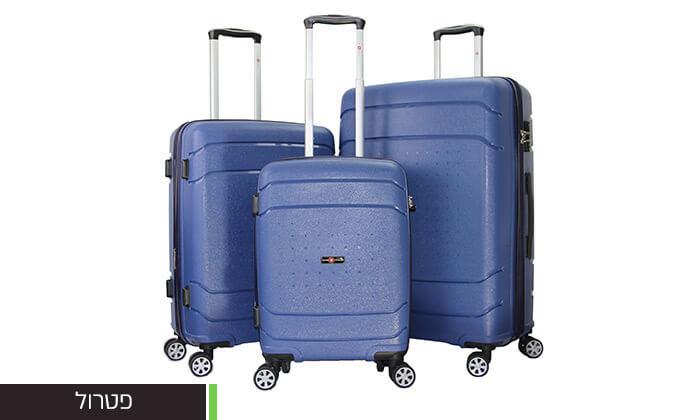 6 סט מזוודות SWISSקשיחות
