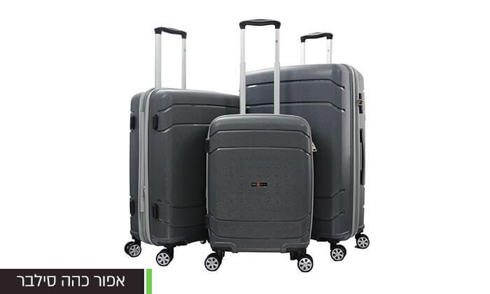 8 סט מזוודות SWISSקשיחות