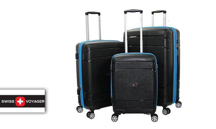 2 סט מזוודות SWISSקשיחות