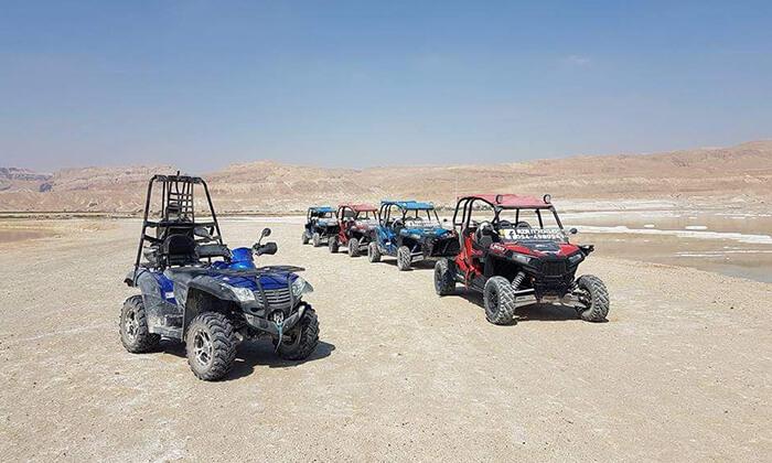3 טיול רייזרים בנהיגה עצמית, באזור ים המלח