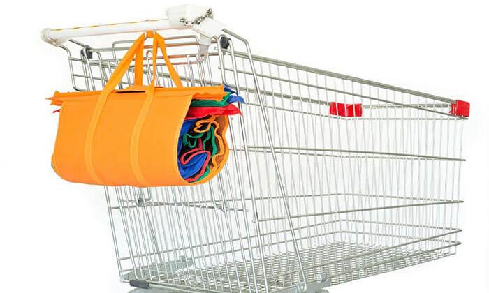 3 סט 4 תיקי קניות כולל תיק צידנית