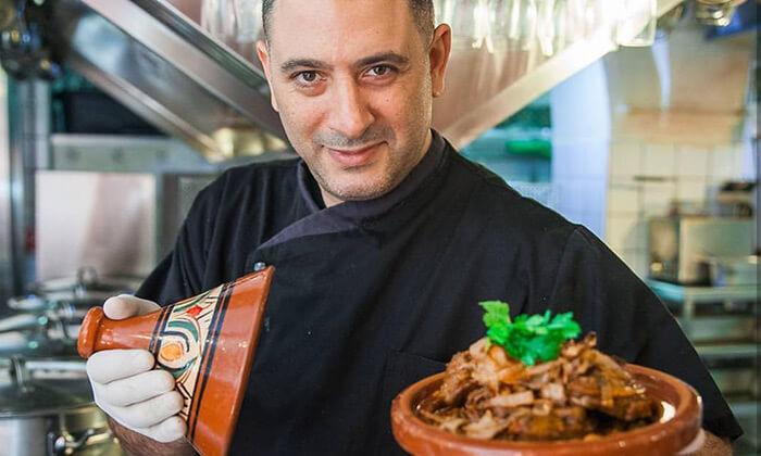 2 ארוחה זוגית במסעדת צ'יריפום הכשרה של השף אבי לוי