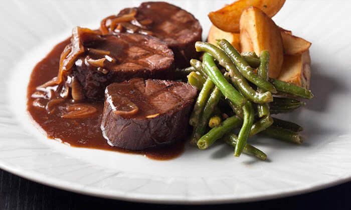 3 ארוחה זוגית במסעדת השף אלומה הכשרה, מלון קראון פלאזה י-ם