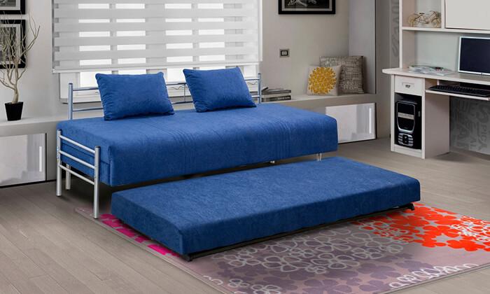3 מיטת נוער נפתחת הכוללת ארגז מצעים