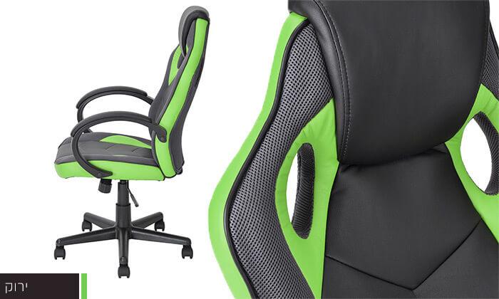 6 כיסא גיימרים Homax כולל גלגלי סיליקון