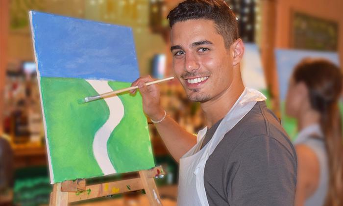 7 כרטיס לאירוע פיינט פאב - ערב ציור בברים בתל אביב