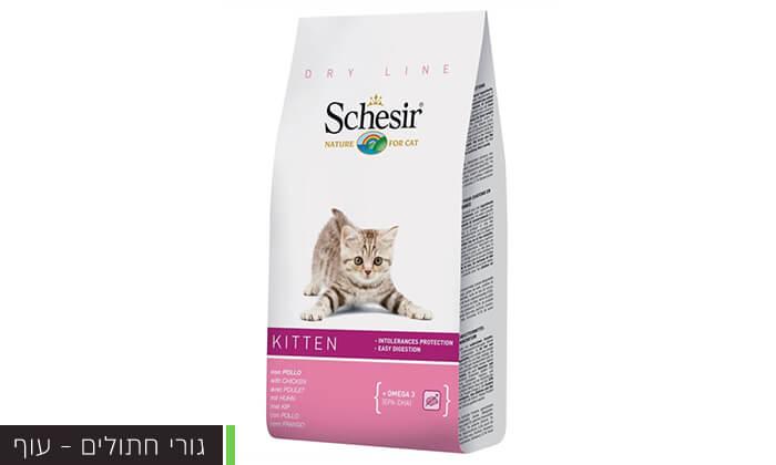 6 שק מזון schesir לחתולים