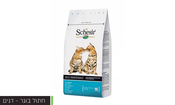 5 שק מזון schesir לחתולים