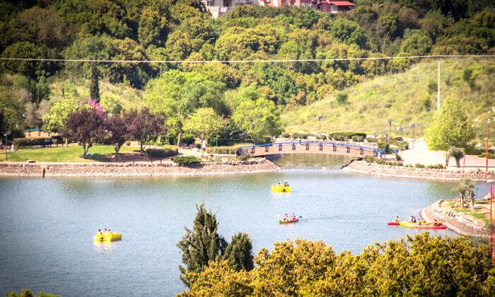 """6 סופ""""ש של קמפינג משפחתי באגם מונפורט"""